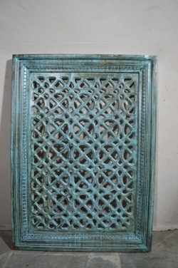 Carved wood decor-panel I