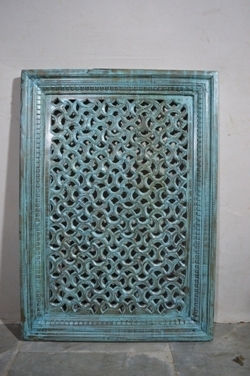 Carved wood decor-panel J