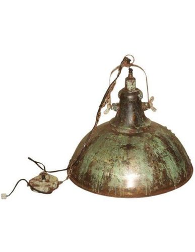 Hanglamp Texas - iron - vintage green